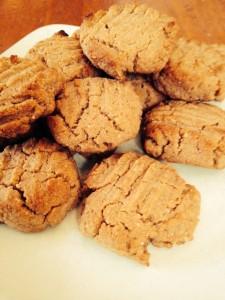 Biscuits au beuure d'arachide